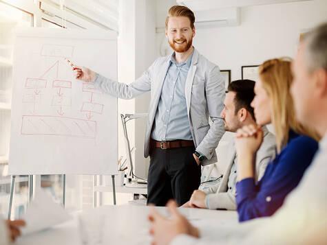 Managementkompetenzen gezielt aufbauen.