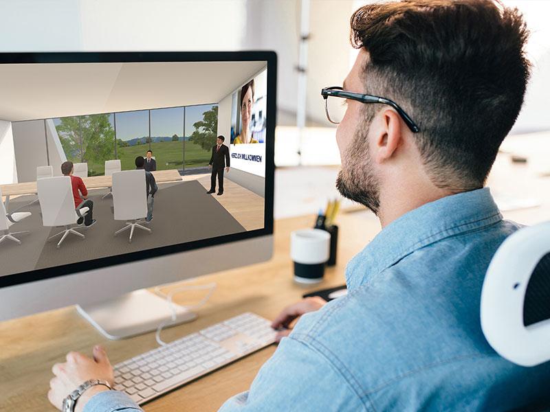 Video-Anleitungen WBS LearnSpace 3D.