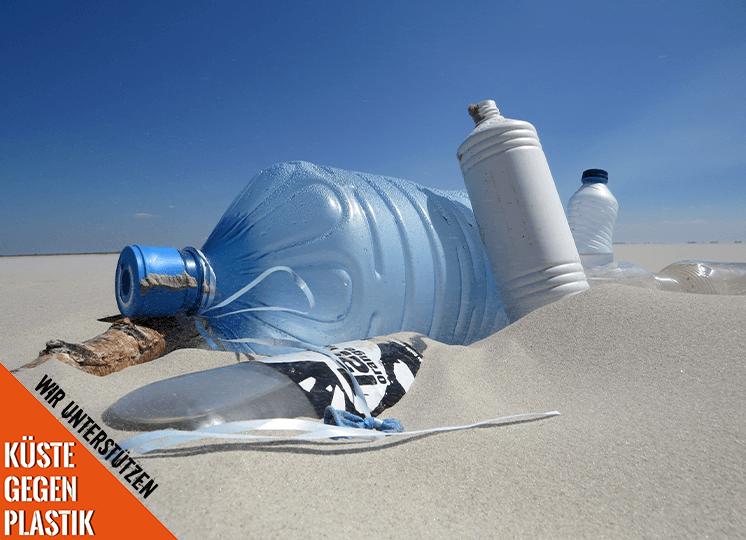 Für jede Bewertung spendet WBS AKADEMIE an Küste gegen Plastik e. V.